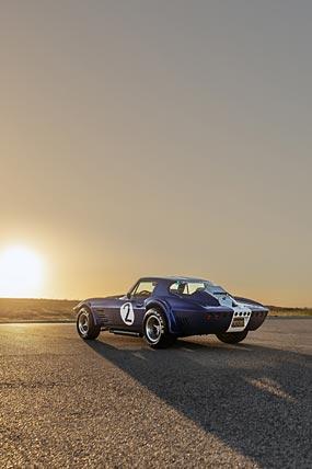 1963 Superformance Corvette Grand Sport Coupe phone wallpaper thumbnail.