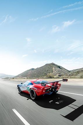2018 Superformance Future GT40 phone wallpaper thumbnail.