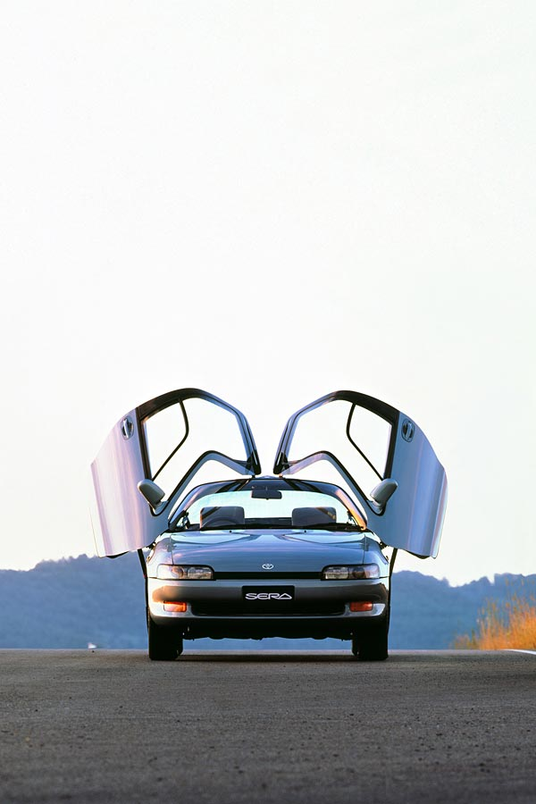 1990 Toyota Sera phone wallpaper thumbnail.