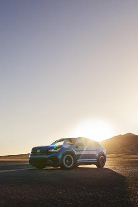 2021 Volkswagen Atlas Cross Sport GT Concept phone wallpaper thumbnail.