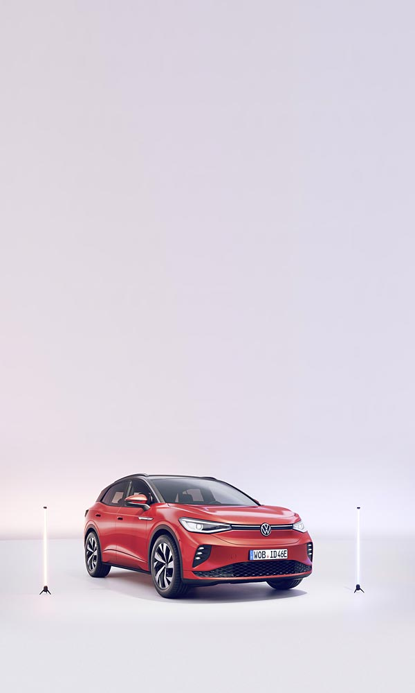 2022 Volkswagen ID.4 GTX phone wallpaper thumbnail.
