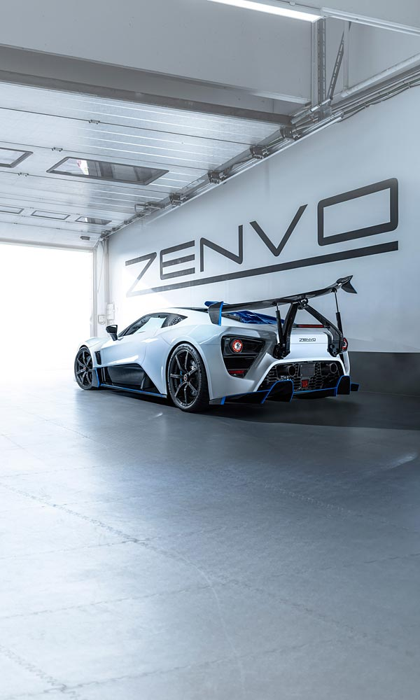 2019 Zenvo TSR-S phone wallpaper thumbnail.