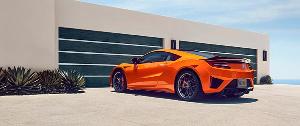 2019 Acura NSX wide wallpaper thumbnail.