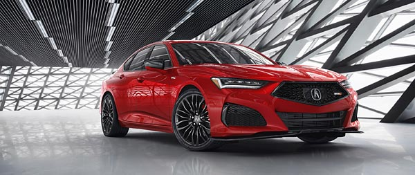 2021 Acura TLX Type S wide wallpaper thumbnail.