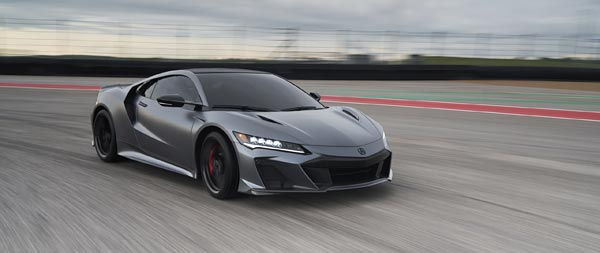 2022 Acura NSX Type S wide wallpaper thumbnail.