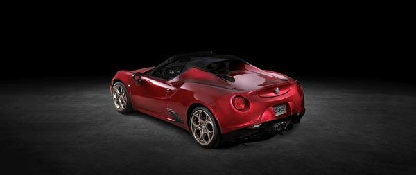 2020 Alfa Romeo 4C Spider 33 Stradale Tributo wide wallpaper thumbnail.