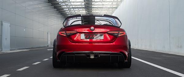 2021 Alfa Romeo Giulia GTA wide wallpaper thumbnail.