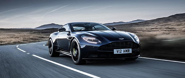 2019 Aston Martin DB11 AMR wide wallpaper thumbnail.