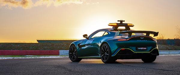 2021 Aston Martin Vantage F1 Safety Care wide wallpaper thumbnail.
