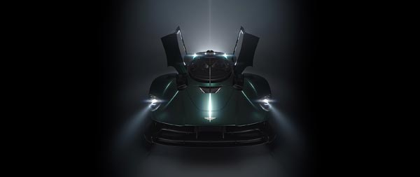 2022 Aston Martin Valkyrie Spider wide wallpaper thumbnail.
