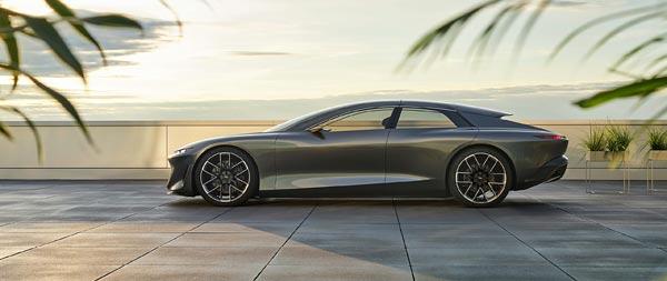 2021 Audi Grandsphere Concept wide wallpaper thumbnail.