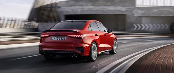 2021 Audi S3 wide wallpaper thumbnail.