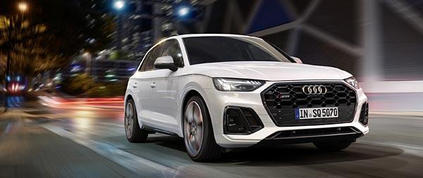 2021 Audi SQ5 wide wallpaper thumbnail.