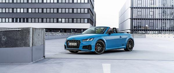 2021 Audi TTS Competition Plus wide wallpaper thumbnail.