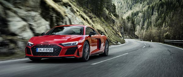 2022 Audi R8 V10 Performance RWD wide wallpaper thumbnail.
