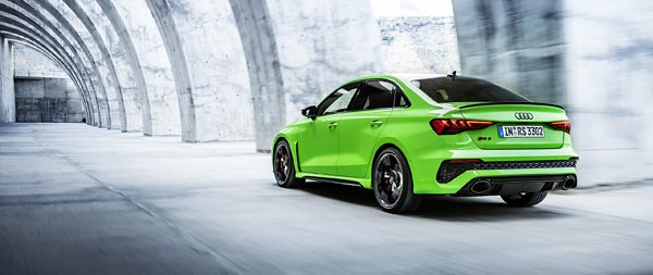 2022 Audi RS3 Sedan wide wallpaper thumbnail.