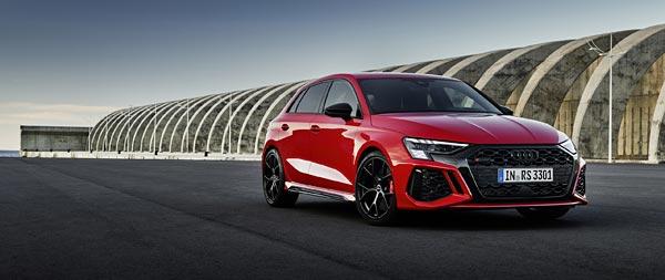 2022 Audi RS3 Sportback wide wallpaper thumbnail.