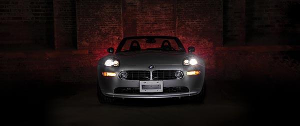 2000 BMW Z8 wide wallpaper thumbnail.