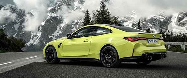 2021 BMW M4 Competition wide wallpaper thumbnail.