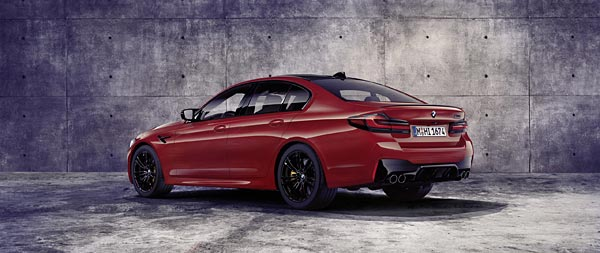 2021 BMW M5 Competition wide wallpaper thumbnail.