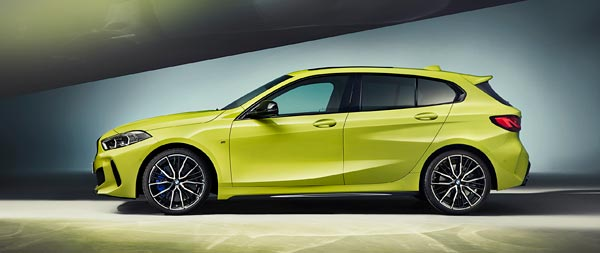 2022 BMW M135i wide wallpaper thumbnail.