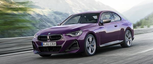 2022 BMW M240i wide wallpaper thumbnail.