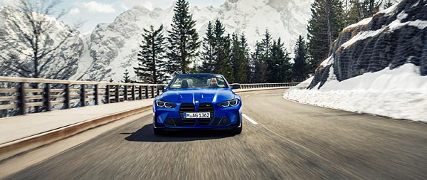 2022 BMW M4 Competition Convertible wide wallpaper thumbnail.