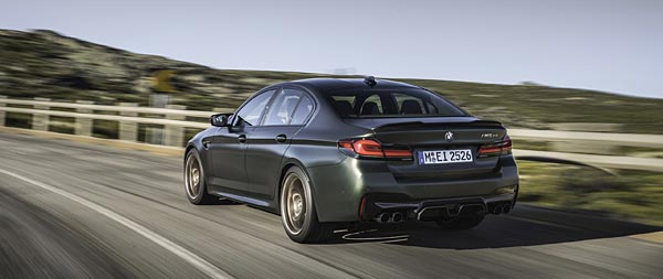 2022 BMW M5 CS wide wallpaper thumbnail.