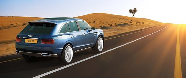 2012 Bentley EXP 9 F Concept wide wallpaper thumbnail.