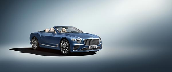 2020 Bentley Continental GT Mulliner wide wallpaper thumbnail.