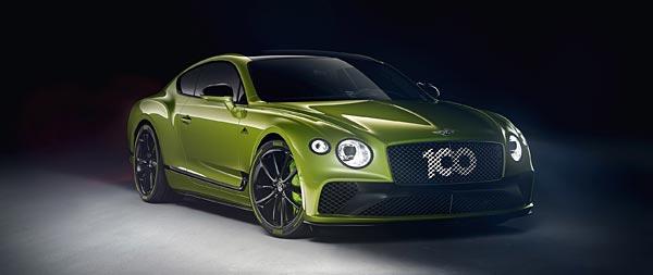 2020 Bentley Continental GT 'Pikes Peak' wide wallpaper thumbnail.