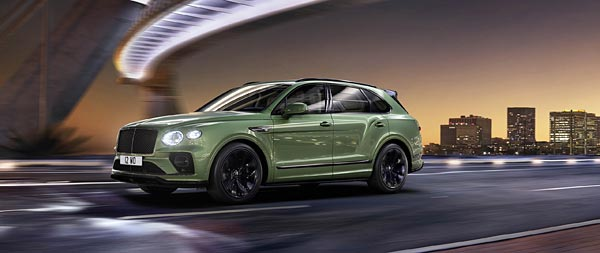 2021 Bentley Bentayga wide wallpaper thumbnail.
