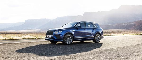 2021 Bentley Bentayga Speed wide wallpaper thumbnail.