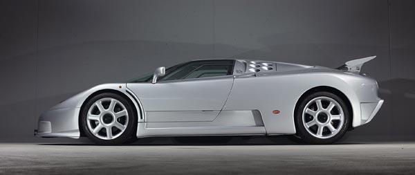 1993 Bugatti EB110 SuperSport wide wallpaper thumbnail.