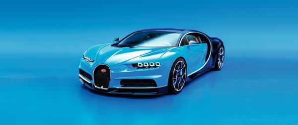 2017 Bugatti Chiron wide wallpaper thumbnail.