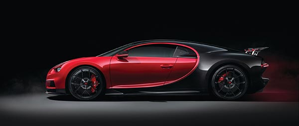 2019 Bugatti Chiron Sport wide wallpaper thumbnail.
