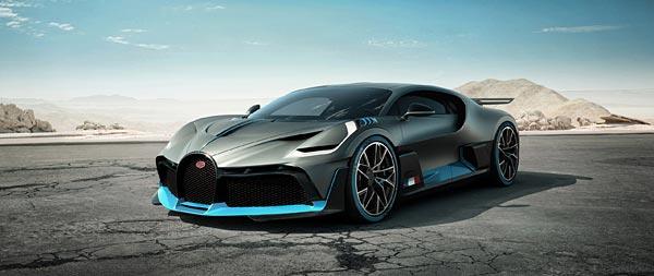 2019 Bugatti Divo wide wallpaper thumbnail.