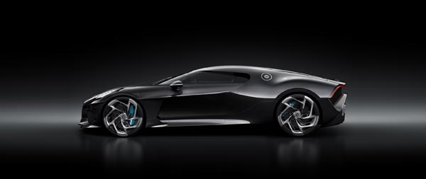 2019 Bugatti La Voiture Noire wide wallpaper thumbnail.