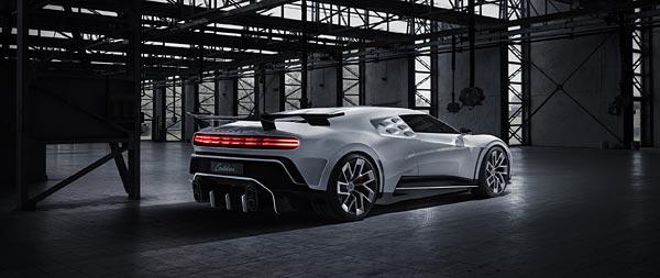 2020 Bugatti Centodieci wide wallpaper thumbnail.