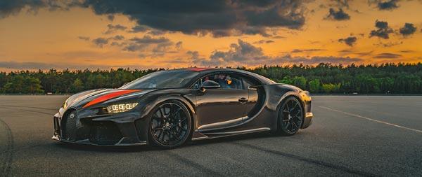 2021 Bugatti Chiron Super Sport 300 wide wallpaper thumbnail.