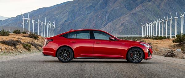 2020 Cadillac CT5-V wide wallpaper thumbnail.