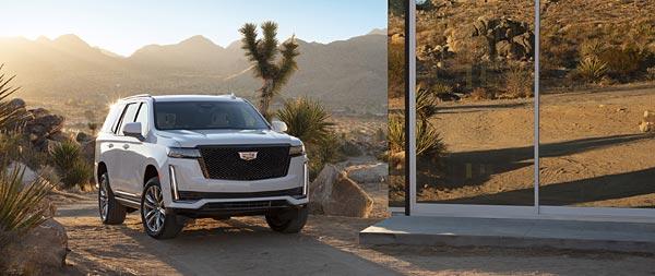 2021 Cadillac Escalade wide wallpaper thumbnail.
