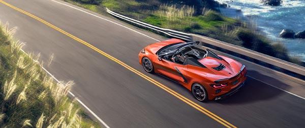 2020 Chevrolet Corvette Stingray Convertible wide wallpaper thumbnail.