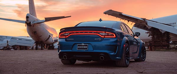 2020 Dodge Charger SRT Hellcat Widebody wide wallpaper thumbnail.