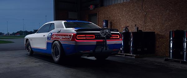 2021 Dodge Challenger Mopar Drag Pak wide wallpaper thumbnail.