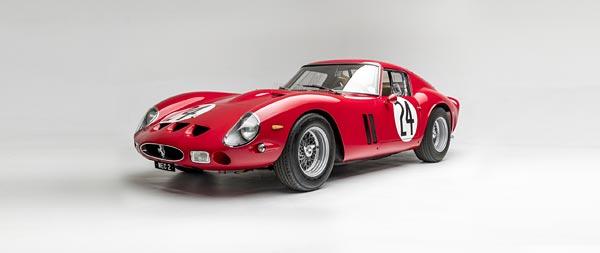 1962 Ferrari 250 GTO wide wallpaper thumbnail.