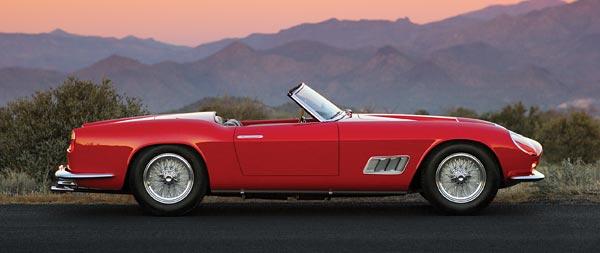 1963 Ferrari 250 GT California Spyder wide wallpaper thumbnail.
