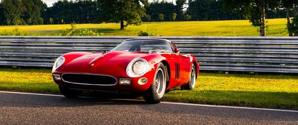 1964 Ferrari 250 GTO wide wallpaper thumbnail.