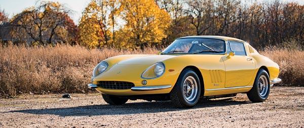 1965 Ferrari 275 GTB wide wallpaper thumbnail.