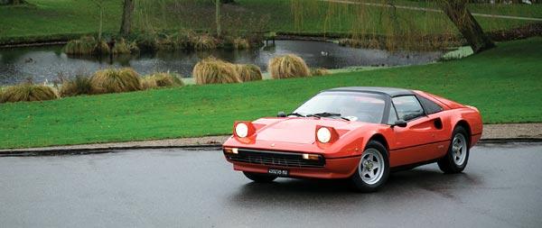1977 Ferrari 308 GTS wide wallpaper thumbnail.